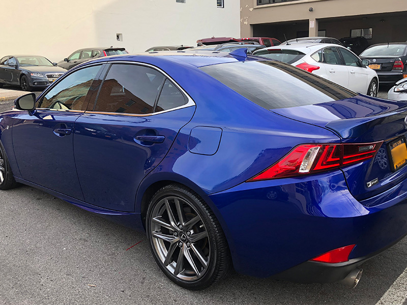 Blue Lexus After