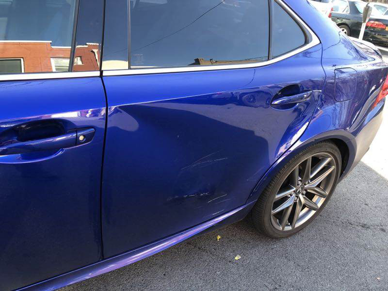 Blue Lexus Before